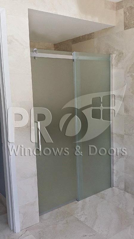 Puertas de ducha puerto rico shower doors pro windows for Puerta corrediza para ducha