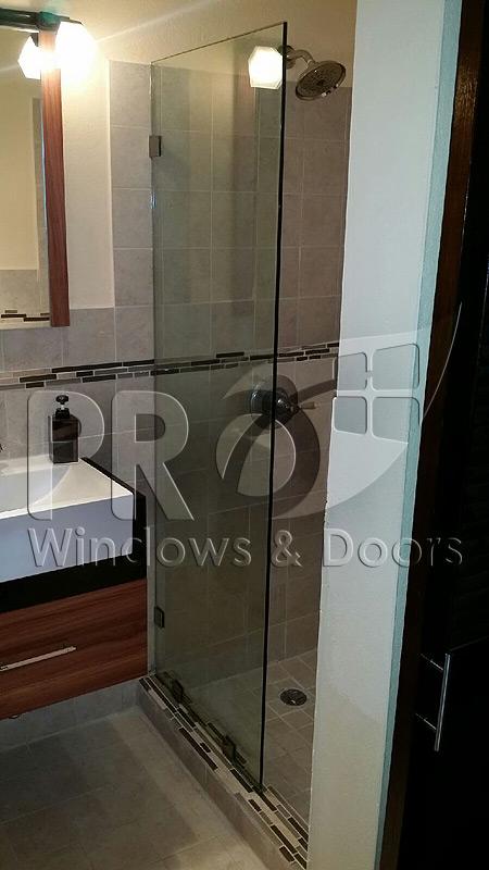 Puertas de ducha puerto rico shower doors pro windows for Puertas de ducha